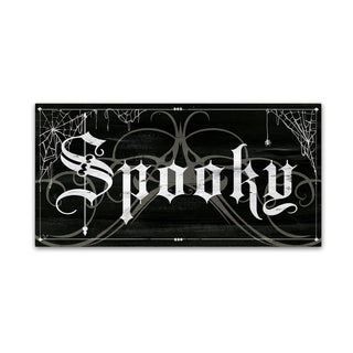 Fiona Stokes-Gilbert 'Spooky' Canvas Art