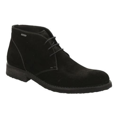 ... Men's Shoes; /; Men's Boots. Men's ara Ethan 28803 Chukka Boot  Black Suede