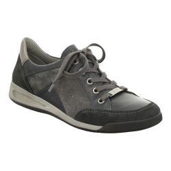 Women's ara Rina 44420 Sneaker Grey/Blue Suede/Calf/Magma Combo