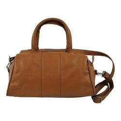 Women's Piel Leather Mini Satchel 3110 Saddle