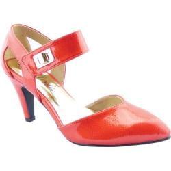 Women's Bellini Magic Two Piece Ankle Strap Red Croc Polyurethane