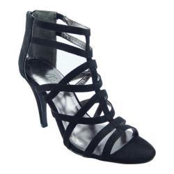 Women's Bellini Missy Strappy Sandal Black Microsuede