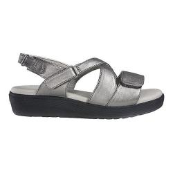 Women's Grasshoppers Cherry Slingback Sandal Gray Smooth Polyurethane