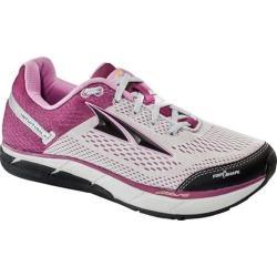 Women's Altra Footwear Intuition 4 Running Shoe Gray/Purple
