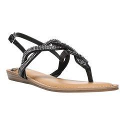 Women's Fergalicious Shade Slingback Sandal Black Calf PU