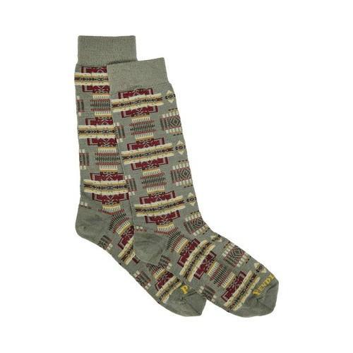 897ea4c33 Shop Pendleton Chief Joseph Crew Sock Sage/Green - On Sale - Free Shipping  On Orders Over $45 - Overstock - 14097753