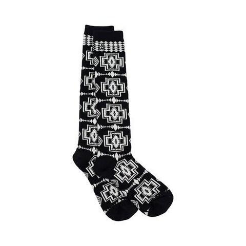 Women's Pendleton Harding Knee High Sock Black