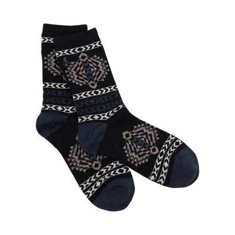 Women's Pendleton Tolovana Crew Sock Black