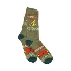 Pendleton Camp Crew Sock Loden/Green