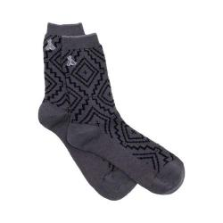 Women's Pendleton Sunset Cross Crew Sock Grey