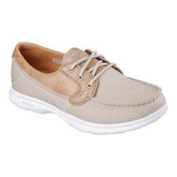 Women's Skechers GO STEP Seashore Boat Shoe Natural