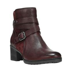 Women's Naturalizer Ringer Ankle Boot Beetroot Ontario Leather/Suede