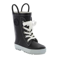 Children's Western Chief Sneaker Rain Boot Black