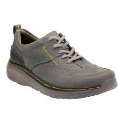 Men's Clarks Charton Mix Sneaker Grey Leather