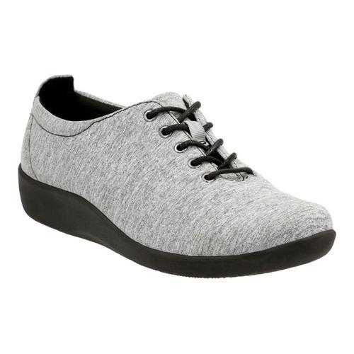 7286a326d4432 Shop Women's Clarks Sillian Tino Oxford Grey Fabric - Free Shipping On  Orders Over $45 - Overstock - 14112178