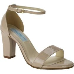 Women's Dyeables Maddox Ankle Strap Sandal Nude Patent