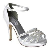 Women's Touch Ups Vail Ankle Strap Sandal White Satin