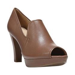 Women's Naturalizer Kaneli Peep Toe Heel Mushroom Capri Nappa Leather