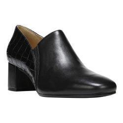 Women's Naturalizer Novara Loafer Black Leather/Printed Croco