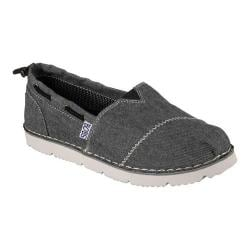 Women's Skechers BOBS Chill Flex New Groove Alpargata Black