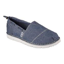 Women's Skechers BOBS Chill Flex New Groove Alpargata Navy