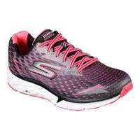 Women's Skechers GOrun Forza 2 Running Shoe Black/Hot Pink