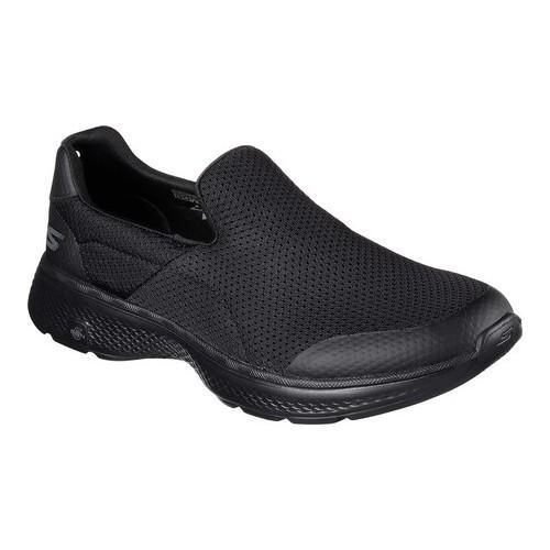 Men's Skechers GOwalk 4 Incredible Slip-On Black