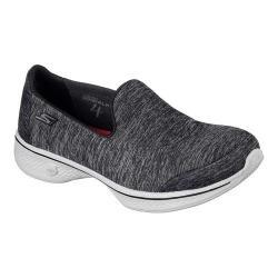 Women's Skechers GOwalk 4 Astonish Walking Shoe Black/Gray