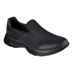 Men's Skechers GOwalk 4 Incredible Slip-On Black|https://ak1.ostkcdn.com/images/products/166/961/P20746247.jpg?impolicy=medium