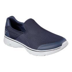 Men's Skechers GOwalk 4 Incredible Slip-On Navy/Gray