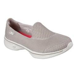 Women's Skechers GOwalk 4 Propel Walking Shoe Taupe