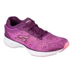 Women's Skechers GOwalk Sport Compel Walking Sneaker Purple