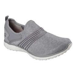 Women's Skechers Microburst Under Wraps Walking Sneaker Gray (2 options available)