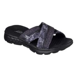 Women's Skechers On the GO 400 Tropical Slide Black