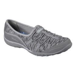 Women's Skechers Relaxed Fit Breathe Easy Golden Slip-On Sneaker Gray