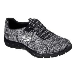 Women's Skechers Relaxed Fit Empire Game On Walking Shoe Black/Charcoal