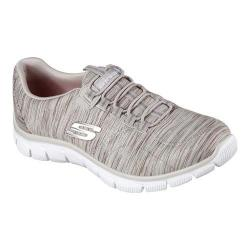 Women's Skechers Relaxed Fit Empire Game On Walking Shoe Taupe