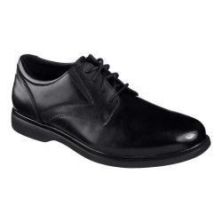 Men's Skechers Relaxed Fit Revelt Remex Derby Black - Thumbnail 0