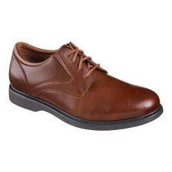 Men's Skechers Relaxed Fit Revelt Remex Derby Cognac