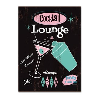 Fiona Stokes-Gilbert 'Cocktail Lounge' Canvas Art