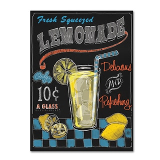 Fiona Stokes-Gilbert 'Lemonade' Canvas Art