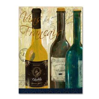 Fiona Stokes-Gilbert 'Vins de France' Canvas Art