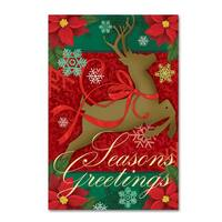 Fiona Stokes-Gilbert 'Seasons Greetings' Canvas Art