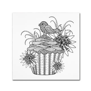 The Tangled Peacock 'Fancy Cupcake' Canvas Art