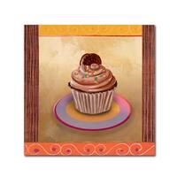Fiona Stokes-Gilbert-ALI 'Chocolate Delight' Canvas Art