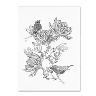The Tangled Peacock 'Magnolia Days' Canvas Art