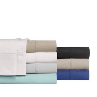 Super Soft 800 Thread Count Cotton Rich 6 Piece Solid Sheet Set