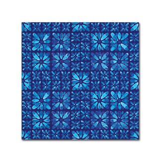 Yachal Design 'Watercolor Blues 300' Canvas Art