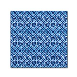 Yachal Design 'Watercolor Blues 200' Canvas Art