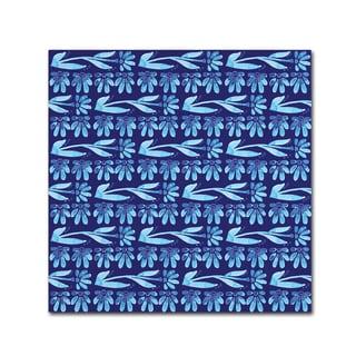 Yachal Design 'Watercolor Blues 100' Canvas Art